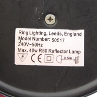 Double insulated lamp Icon sticker
